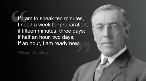 Wilson Woodrow Quote